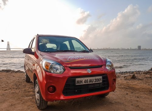 Mumbai Sea Link, Maruti Alto, Sunset, The Big Bhookad